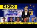 DSGVO – totale Meinungsversklavung im EU-Stil (Datenschutz-Grundverordnung) | 23.05.2018