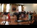 Пед практика в Мерзляковке Большой большой ансамбль Зелёные рукава