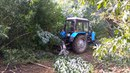 трактор Беларус МТЗ мульчер FAE FML\ST