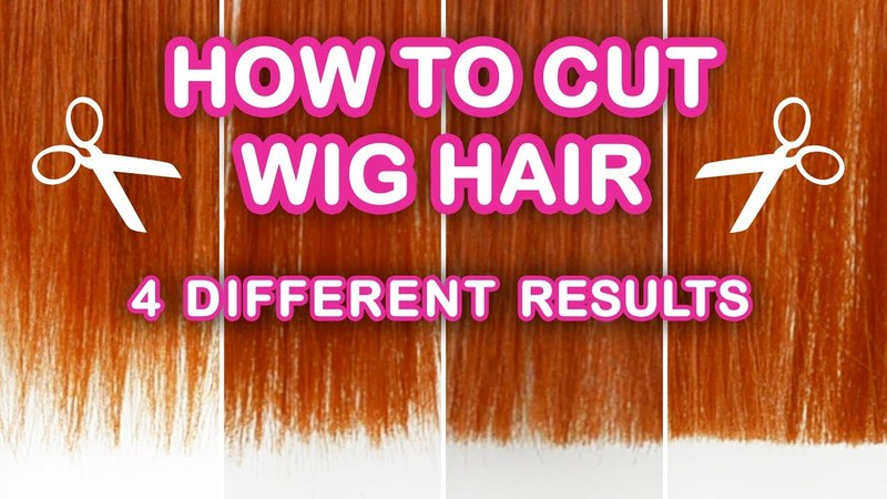 How to Cut Wig Hair in 4 Different Ways | Wispy, Fringe, Choppy, and Blunt