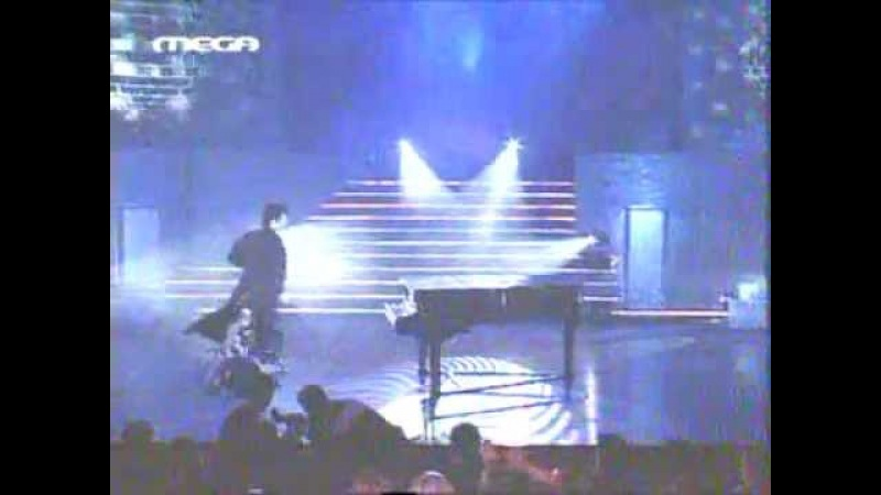 Sakis Rouvas Show Pop Corn Awards 2001