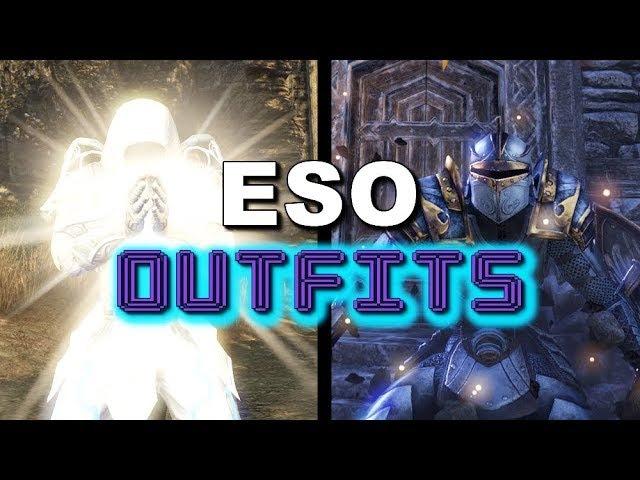ESO Outfits - Healer Tank Styles - Elder Scrolls Online