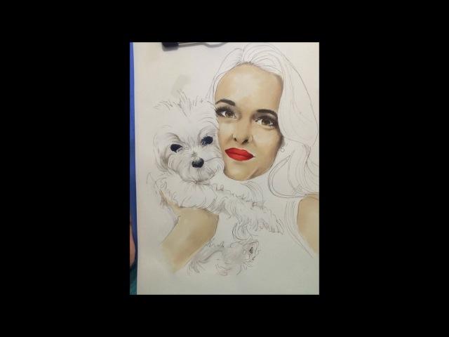 Danielle Panabaker Artwork