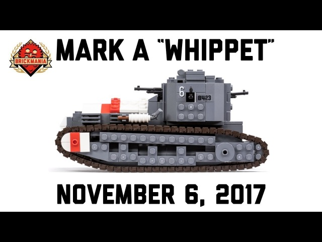 Mark A Whippet - Custom Military Lego