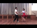 Switches Quick Stop | Intermediate Lindy Hop with Sharon Josh | Wednesday Club 22 November 2017