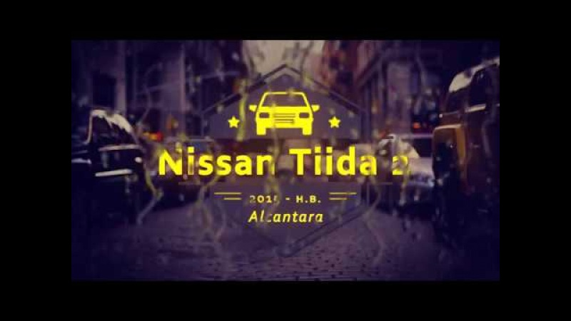 Авточехлы на Nissan Tiida 2, 2015 - н.в. - Алькантара