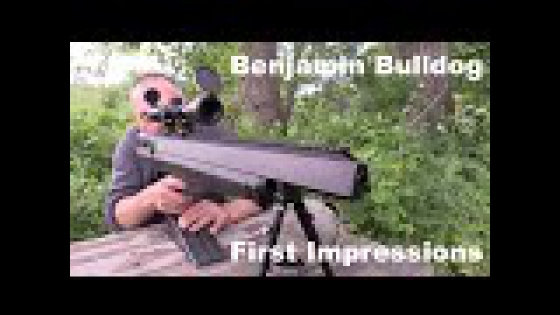 PoBoy Airguns Shoots the .357 cal Benjamin Bulldog for the First Time
