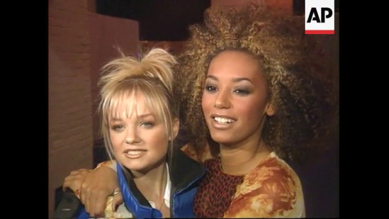 Spice Girls - Brit Awards Rehearsals - Associated Press 23.02.1997