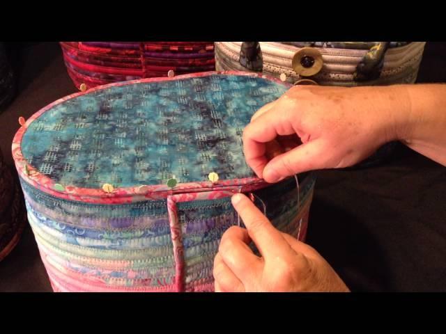 Camden Bag Sewing the Bottom Side Seam
