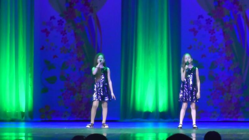 А мне бы петь и танцевать дуэт Илона и Настя
