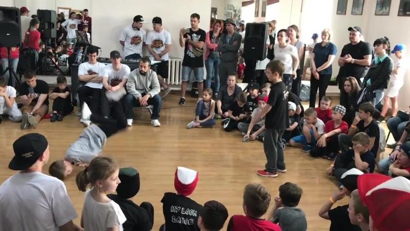 BABY 1x1/3 место Илья Шевченко(win) Bboy Wind