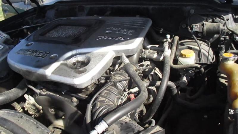 мотор nissan patrol GR Y61