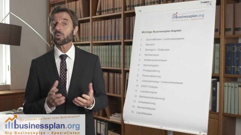 Businessplan - Erklärung der Kapitel, Praxistipps, Leitfragen usw