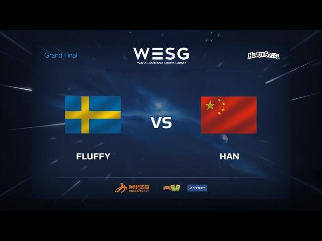 Fluffy vs Han WESG 2017 Grand Final Hearthstone