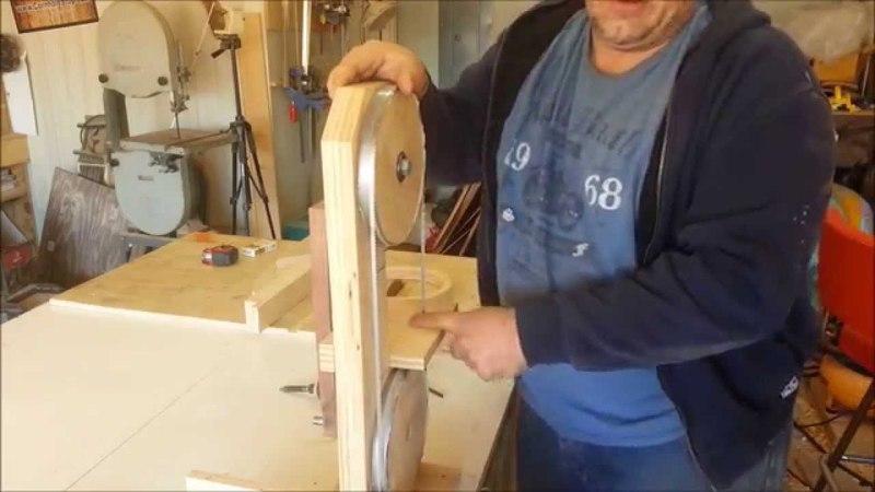 DIY - Homemade bandsaw follow up