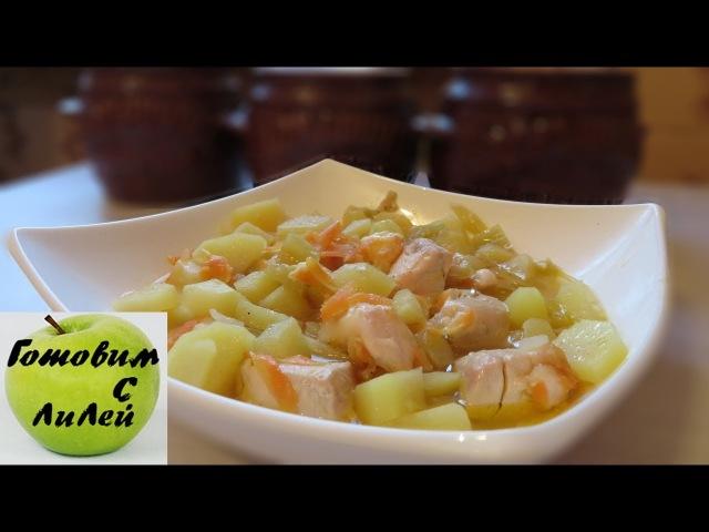 Горшочки с сыром второе блюдо (pots with cheese)