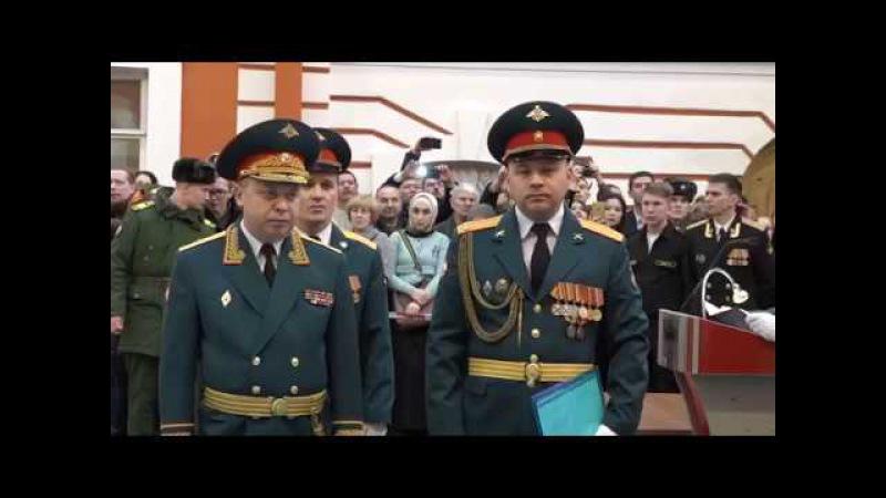 Выпуск офицеров Военного института (инженерно-технического)