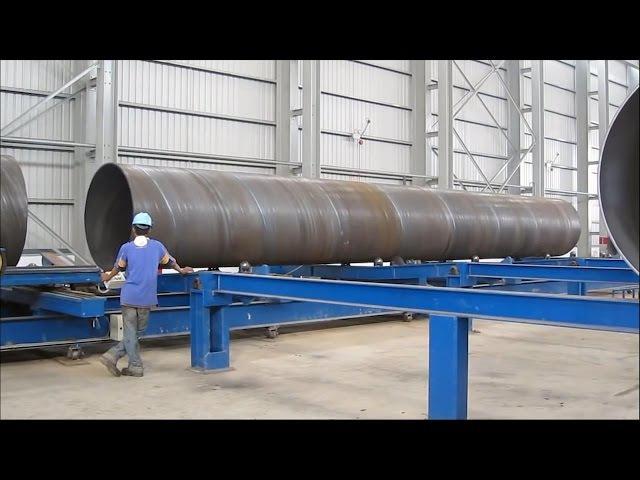 Как делают трубы для газопровода