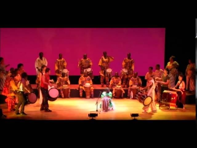 Doudou Ndiaye Rose & Hidano Super TAIKO Project 2008