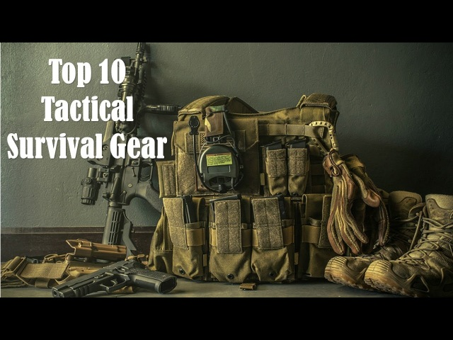 Top 10 Amazing Tactical Survival Gear You Need To See Part 2