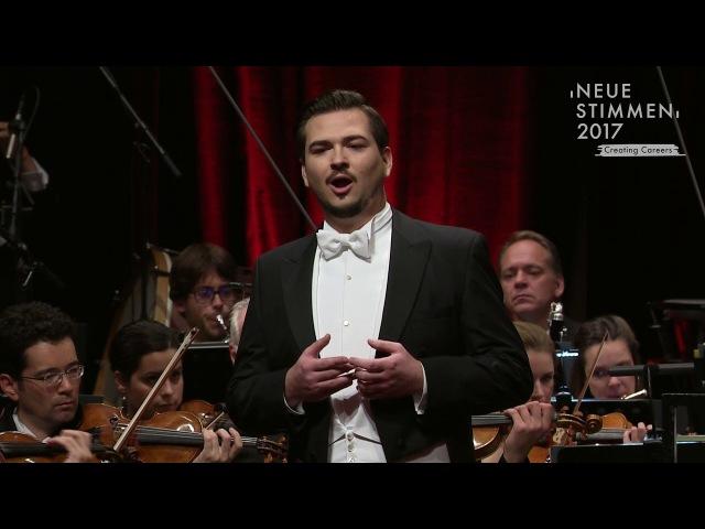 NEUE STIMMEN 2017 - Final Johannes Kammler sings Mein Sehnen, mein Wähnen, Die tote Stadt