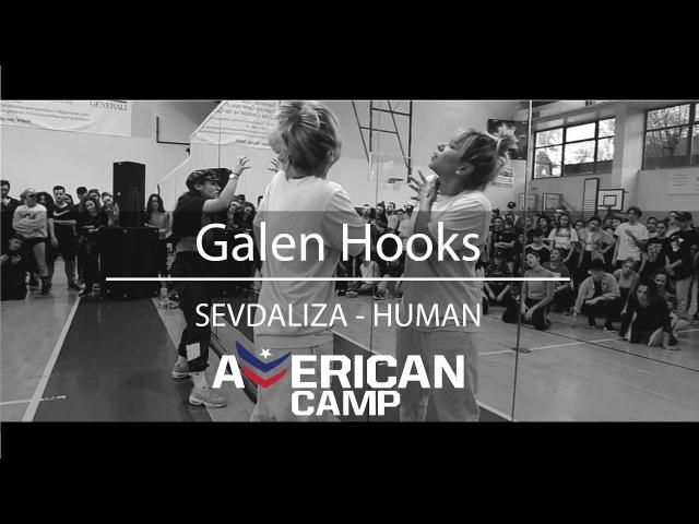 Galen Hooks | SEVDALIZA - HUMAN | American Camp 2018 @galenhooks @dance @mmpp