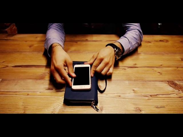 SOKOL - Беспроводной клатч-зарядка (портмоне зарядка, кошелек зарядка)