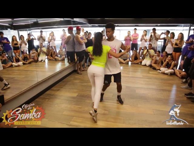 Baila Mundo Léo Fortes e Robertinha Stephanie Oficina do Samba Verão 2018