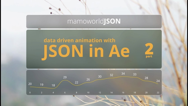 Data-Driven Animation with JSON in After Effects - Part 2: Linking Colors