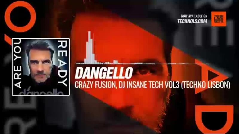 Techno music with @dangellodj - Crazy Fusion, Dj Insane Tech vol3 (Techno Lisbon) Periscope