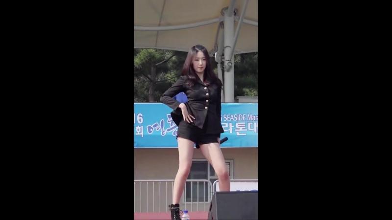161015 포텐(4TEN) 혜진 - 지독하게 (영흥해변마라톤대회) 직캠