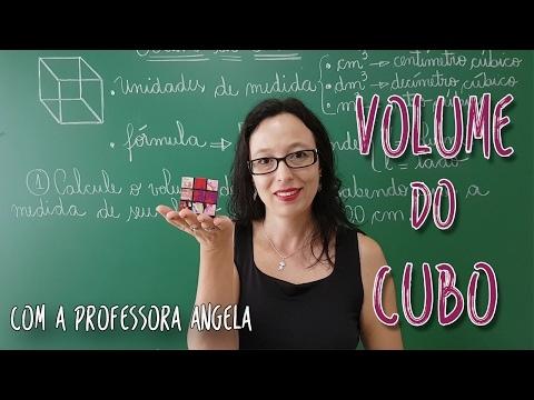 Volume do Cubo - Vivendo a Matemática - Professora Angela