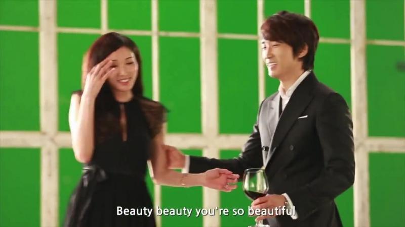 Съемки рекламного клипа Лотте Lotte Duty Free Music Video Making (ENG Ver.) - Song Seung Heon_Lin Chi Ling