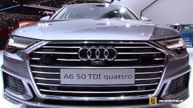 2019 Audi A6 50 TDI Quattro - Exterior and Interior Walkaround - Debut at 2018 Geneva Motor Sho