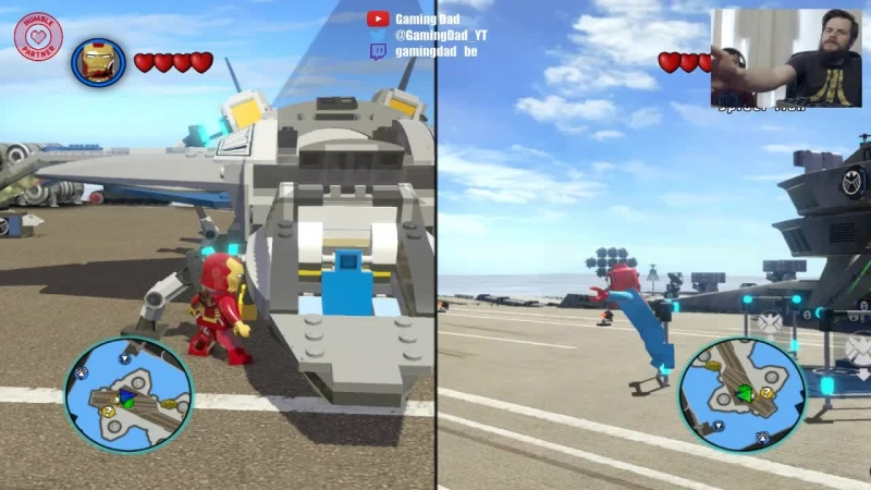 LEGO® Marvel™ Super Heroes with my son 8