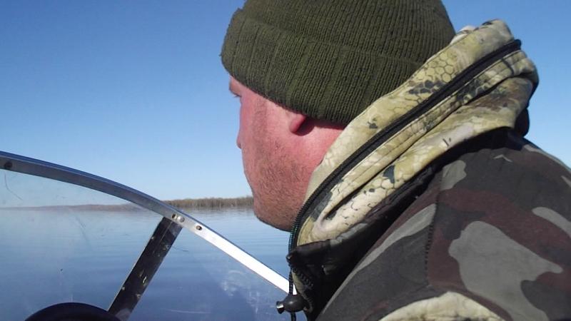 Поездка на лодке с Лабожского в г.Нарьян-Мар.