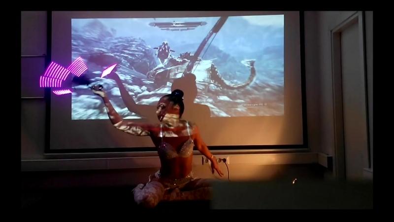 Мой танец с веерами Sexy striptease 3 2014 год Ната Сакура