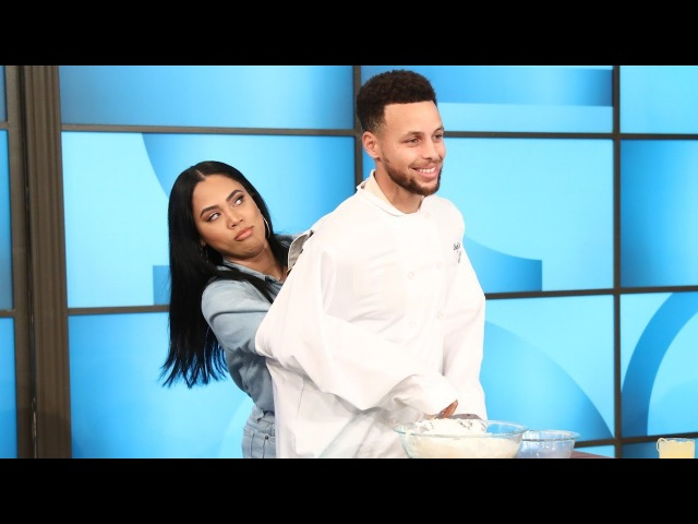 Steph Ayesha Curry Get Cooking in the Kitchen