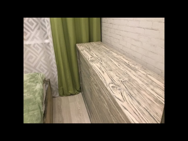 Покрытие маслом мебельных щитов в два цвета. Wood oil coating. Drewnochron. Древохрон.