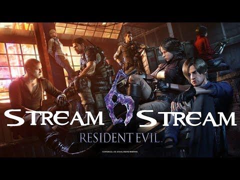Resident evil 6 - Stream 3 (продолжение)