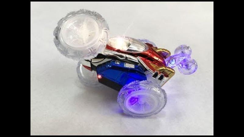 Акробатическая машинка Dasher! Радио управляемый автомобиль для трюков.