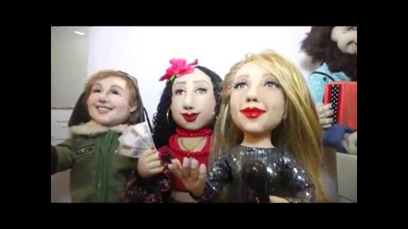 Виставка Сезон ляльок (галерея Бузок) у Харкові зібрала шедеври майстрів Укра ...