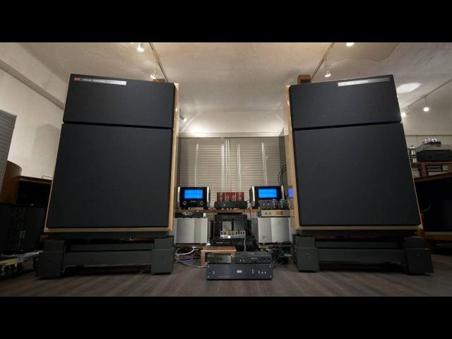 憧れのサウンド World's Greatest Speakers! KRS 4351 Bi-Amping by McIntosh MC1.2KW, DEQX HDP-4, 2x Hugo TT 9