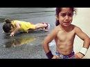 Strongest Kids Gymnastics Boy Arat Hosseini 3 Years Old
