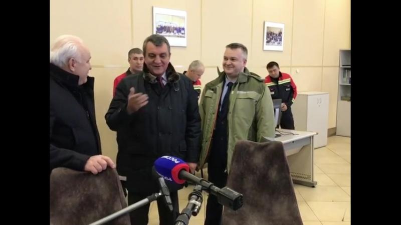 Сергей Меняйло в Хакасии с рабочим визитом