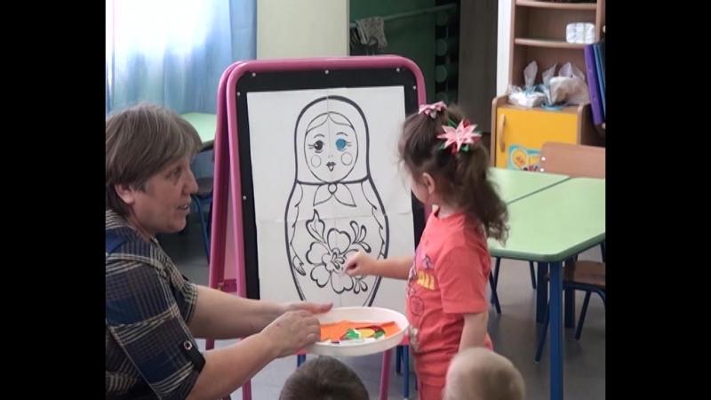 День открытых дверей в Новоселовском детском саду «Росинка».