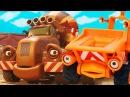 Мультик про Синий Трактор - Рабочие машинки - Маленькое слово