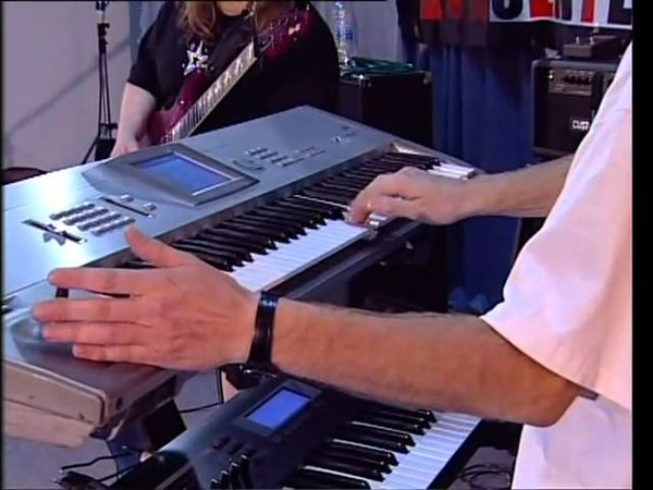 Marcel Coenen jamming with Mats Olausson (Ark/Yngwie)