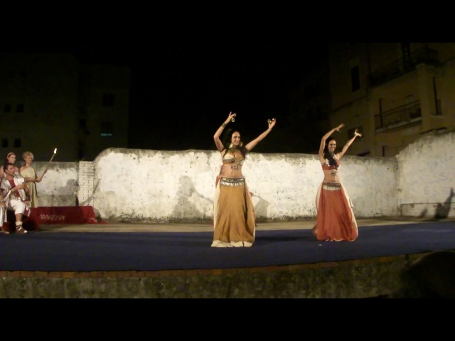 Ninfe Nereidi - danze antiche orientali - Notti di Cicerone 2012