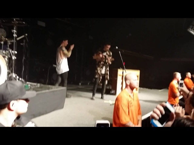 Josh Filming the Crowd and Tyler Playing the Ukelele @ Starland Ballroom